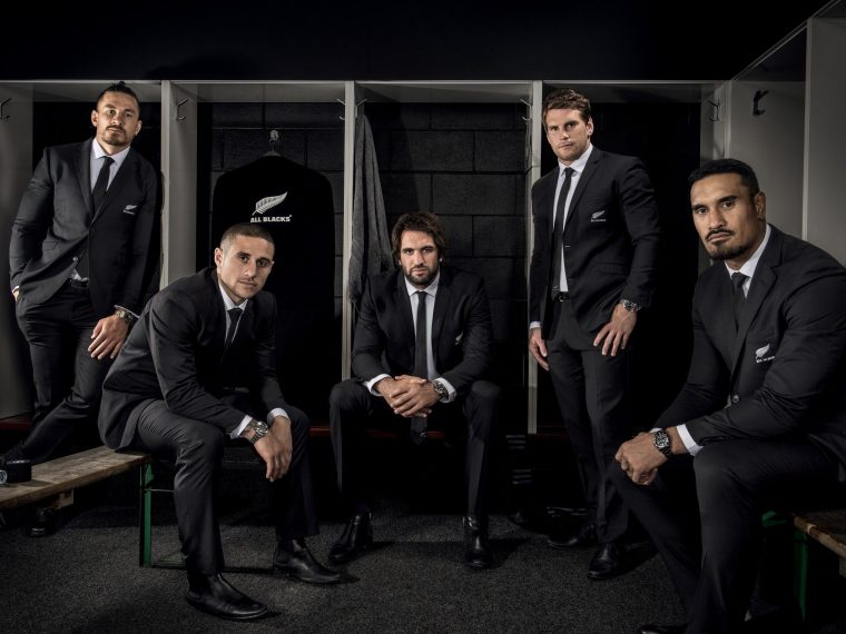 TUDOR Joins Forces with World-Class All Blacks <br/> 帝舵表代言人:紐西蘭全黑隊